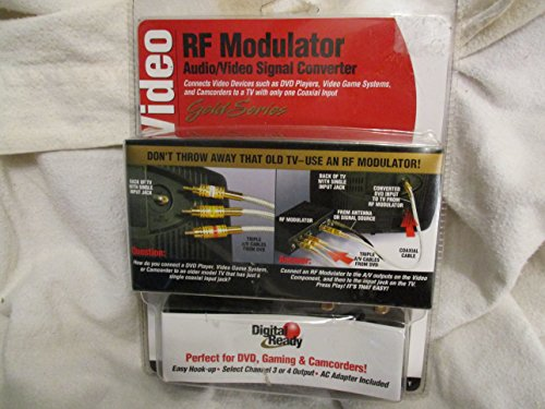- Digital Ready Video Rf Modulator Audio/video Signal Converter