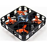 Mesh Protective Frame RC Quadcopter Anti-Crash Flying Box 2.4G 4CH 6-Axis Gyro Mini Drone Altitude Hold RTF Black