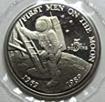 1989 MH Marshall Islands 20th Anniversary Men on the Moon $5 Uncirculated