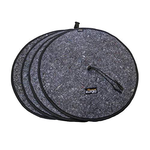 - Kurgo Wheel Felts (TM) & Tire Rim Covers - Pack of 4
