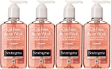 Neutrogena Oil-Free Acne Wash Facial Cleanser, Pink Grapefruit, 6 Ounce (Pack of 4) Review
