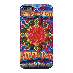 Scratch Protection Cell-phone Hard Covers For Iphone 6 With Unique Design Trendy Grateful Dead Pictures VIVIENRowland