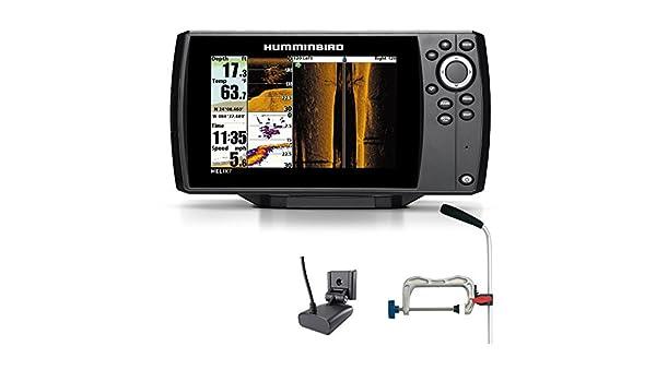 Humminbird Helix 7 SI GPS Side Imaging Echolot Mar tarjeta Combo para plotter portátil profesional: Amazon.es: Deportes y aire libre