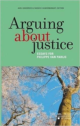Book Arguing about justice: Essays for Philippe Van Parijs