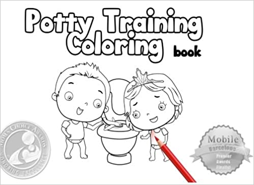 Potty Training Coloring Book: Toilet Training Coloring: Volume 2