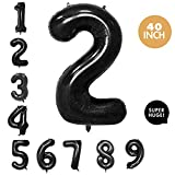 mylar number balloons - 40