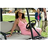 Leverage (2008 - 2012) 8x10 Inch Photo Gina Bellman Pink Dress in Golf Cart kn