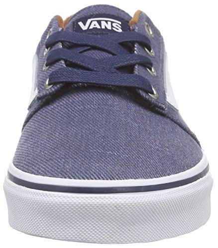 Vans Herren Chapman Stripe Low-Top Blau (t&l/dress Blues/white)