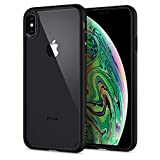 Spigen Ultra Hybrid with Air Cushion Technology and Hybrid Drop Protection Designed for Apple iPhone Xs Max Case (2018) - Matte Black