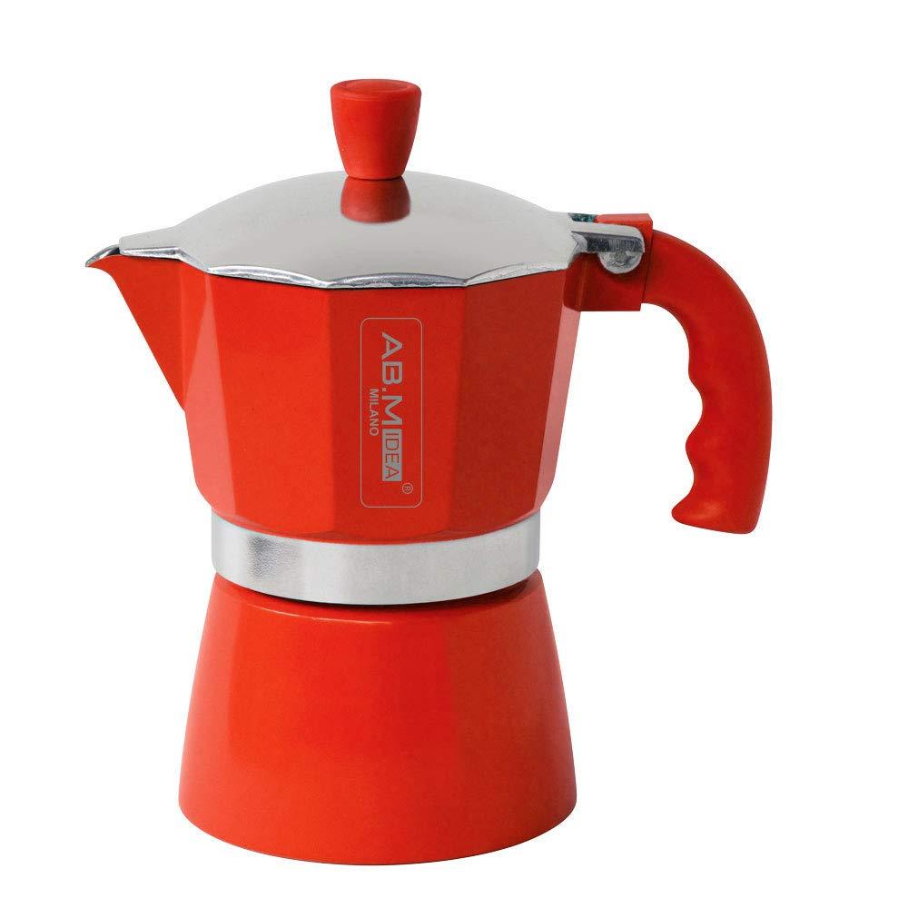 ABM-IDEA HX915736 Espressokocher 1 Tasse, Rot