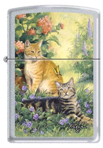 Zippo Linda Pickens Collection Purrrfect Cats - Linda Collection