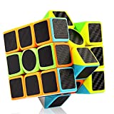 Cubelelo-CubeStyle-Carbon-Fiber-3x3-Stickerless-Bright-3x3x3-Speed-Cube-Magic-Cube-Puzzle