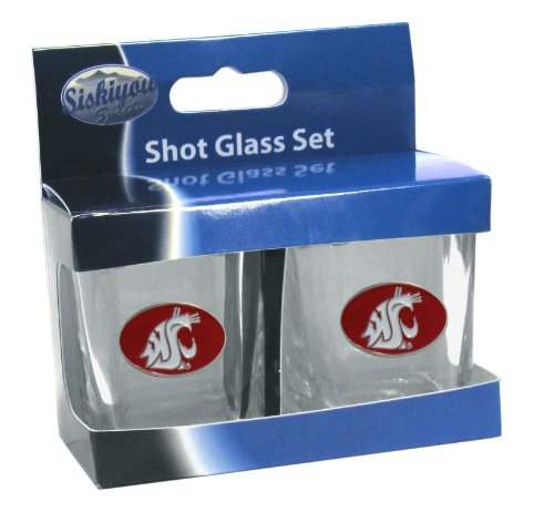 (Siskiyou NCAA Washington State Cougars Shot Glass)