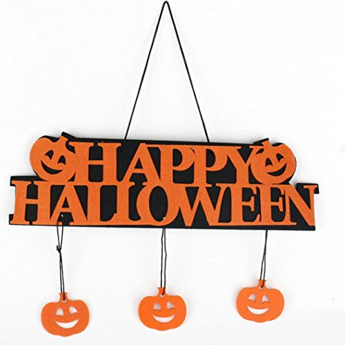 1pc Halloween Decoration, Misaky Banner Garland Ghost Hanging Decoration - Celebrity Halloween Costumes 2016 Ideas