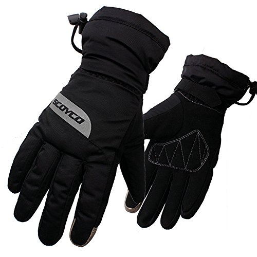 Scoyco MC32 Thermal Waterproof Motorcycle Racing Gloves Motocross Protective Gear Clothing (L)