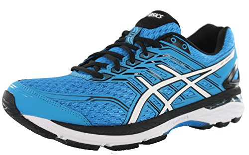 5 Mens Running Shoes (ASICS GT2000 5 (4E) Shoe Men's Running 10 Island Blue-White-Black)