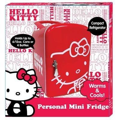 SAKAR 76009 Hello Kitty Mini Fridge by Sakar (Image #1)
