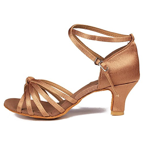 Del Le Di Da Beige Ballo Tango Heels 7cm 5cm Yff Scarpe Ballo Donne 5cm sala Latino 11corlors dAqxqwfI