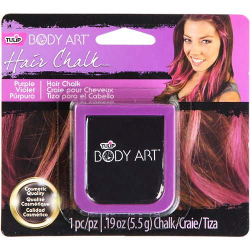 tulip-body-art-hair-chalk-purple