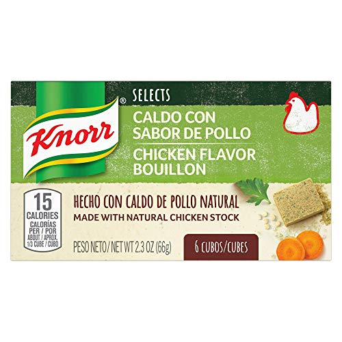 Knorr Selects Soup Base CUBE CHICKEN, 0.17lb(Pack of 6) (Soup Recipes With Chicken Stock As Base)