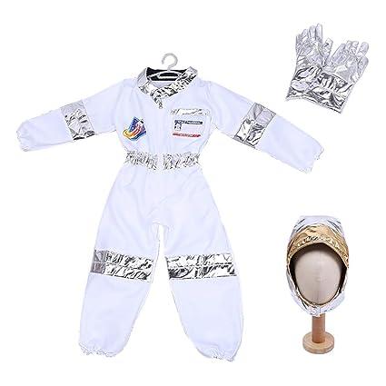 TopTie Traje de Juego de Roles de Astronauta para Niños ...