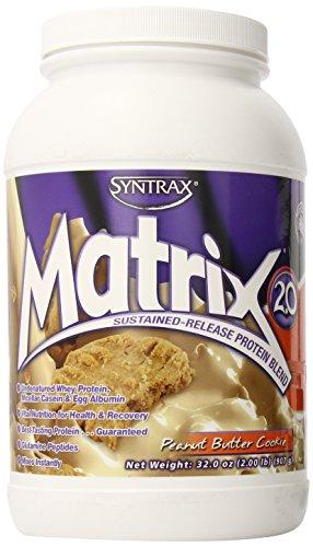 Syntrax Matrix Whey Protein, Peanut Butter Cookie, 2 Pound