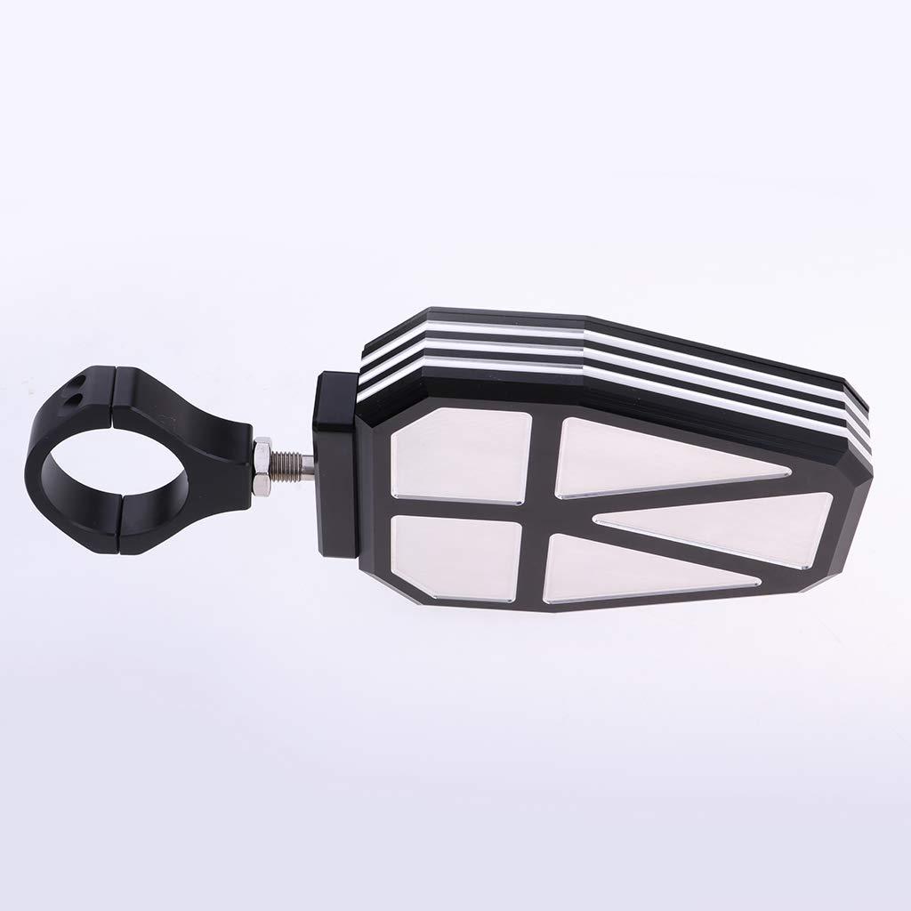 Rouge Shiwaki 2X R/étroviseurs avec Clignotants /à Del pour Polaris RZR 900 2015 Mod/èle 1.75 Pouce