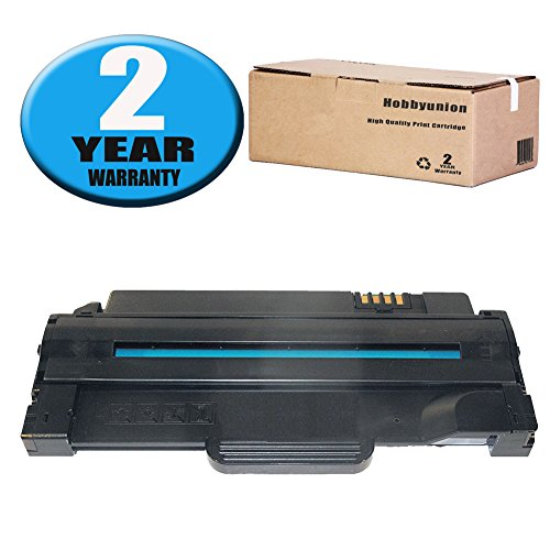Toner Cartridge Black by Hobbyunion for Dell 1130 1130N 1133 1135N Laser Printer (1 Pack) ()