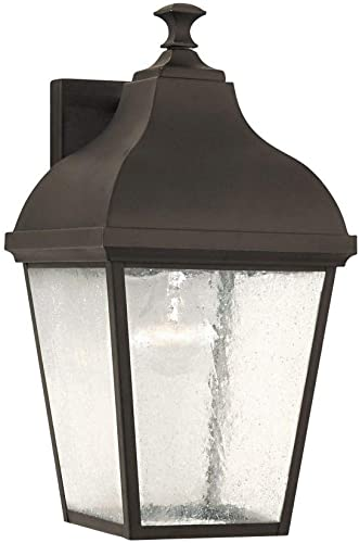 Feiss OL4002ORB Terrace Large One Light Outdoor Wall Lantern Outside Fixture