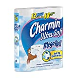 Charmin Ultra Soft Toilet Paper 12 Mega Rolls (Pack of 4)