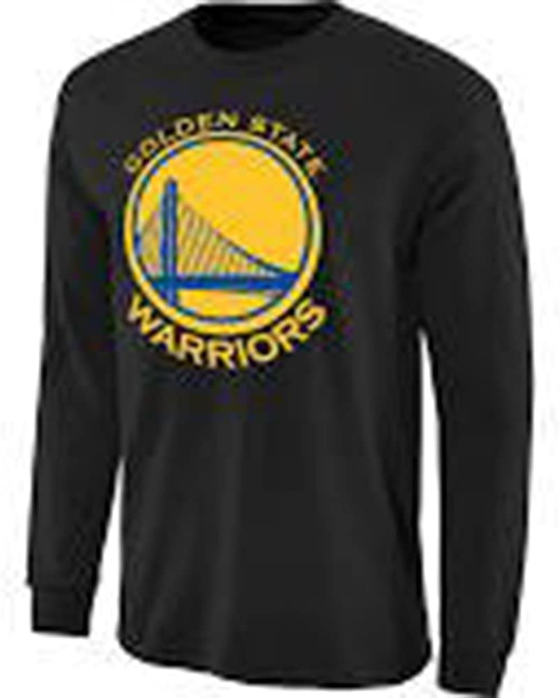 Golden State Warriors Adidas NBA negro adulto de manga larga ...