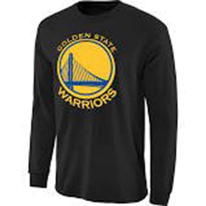 adidas Golden State Warriors NBA Negro Adulto de Manga Larga ...