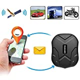 Car Tracker,Hangang Vehicle GPS Tracker Device App Realtime Quad Band GSM/GPRS/GPS Vehicle Tracker Car Locator tk905 Tracking Device with Google Link Mini Waterproof IP67 5000mah 3 Months Long Standby Big Battery with Strong Magnet GPS Exclusive Tracking Device for Car Truck Container Fleet Management Auto Built-In Microphone for Voice Monitor Mini Micro Spy Tracker Free Online Real-Time Outdoor Locator Live Updates with Google Maps GPS device for Tracking (CS-905-003)