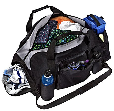 FITNESS SAQ Fitness Gym Bag With Shoe Compartment Amazoncouk Sports Outdoors