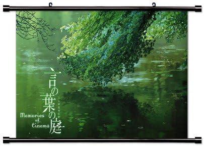 El Jardín De Las palabras (kotonoha no NIWA) Anime de tela Póster de desplazamiento de pared (32 x 18) inches. [WP] el Jardín de words-3 (L) by WallScrollPosters: Amazon.es: Hogar