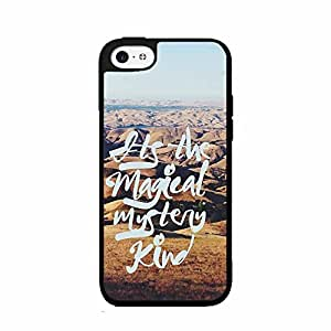 Magical Mystery Kind 2-Piece Dual Layer Phone Case Back Cover iPhone 4 4s