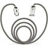 Aimus USB Type C Cable 6Ft Nylon Braided Charging Cables USB-C to USB-A with Zinc Alloyed Reversible Connector for Mac Book, Nexus 6P, Oneplus 2, Nexus 5X, ChromeBook Pixel and More