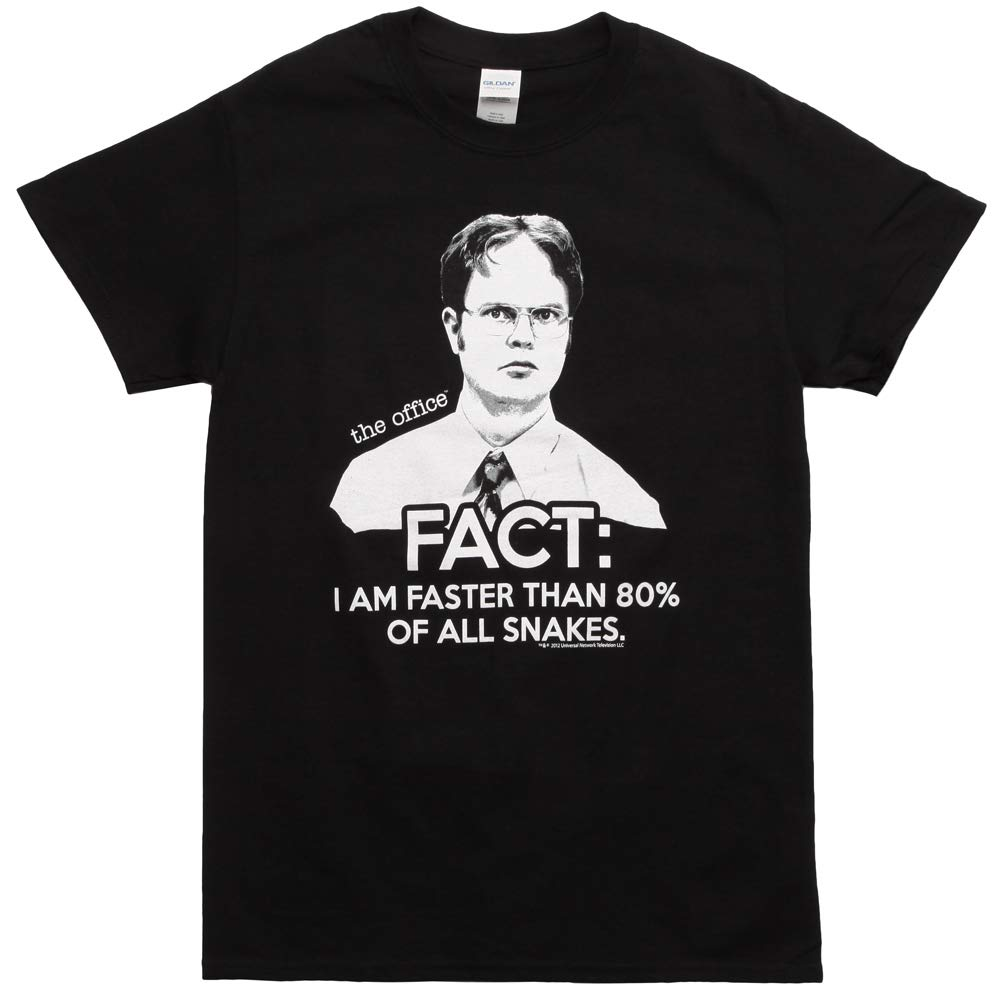 The Office Dwight Fact Faster Than Snakes T Shirt 8718