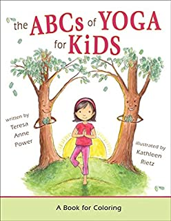 The ABCs Of Yoga For Kids A Book Coloring