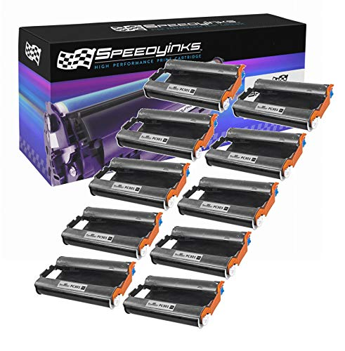 Speedy Inks - 10pk Brother PC301 Compatible Fax Cartridge with - Pc301 Compatible Fax
