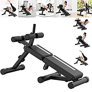 Foldable weight Bench Incline Adjustable Strength Training Sit-ups Board For Full Body Workout Home Gym
