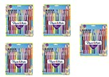 Flair Felt Tip Pens, Medium Point (0.7mm), Assorted Colors, 24 Count,