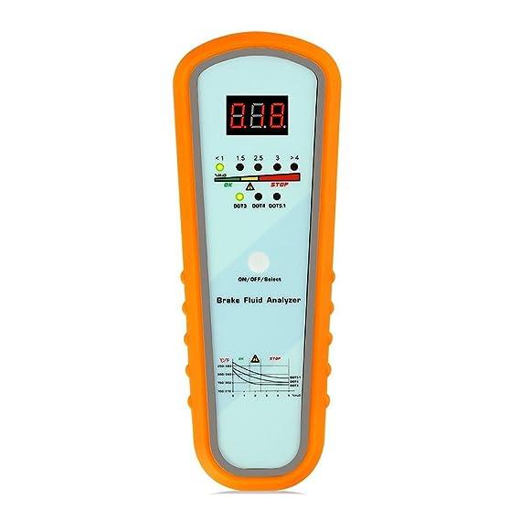 BERGEN LED Brake Fluid Tester Moisture Water Test Indicator for DOT3 DOT4 B5314