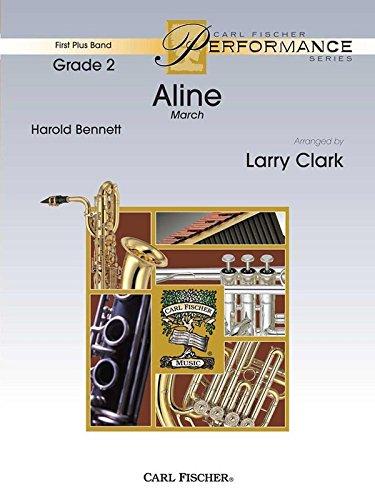 Download Aline - Henry Fillmore - Carl Fischer - Flute, Oboe (opt. Flute 2), Clarinet 1, 2 in Bb, Bass Clarinet in Bb, Alto Saxophone in Eb, Tenor Saxophone in Bb, Baritone Saxophone in Eb, Trumpets 1, 2 in Bb, Horn in F, Trombone, Baritone B.C., Bassoon, Baritone T.C. in Bb, Tuba, Mallet Precussion (Bells), Timpani, Percussion 1 (Snare Drum, Bass Drum), Percussion 2 (Crash Cymbals, Triangle) - Concert Band - FPS68 pdf