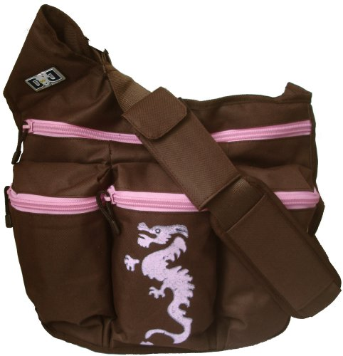 Diaper Bag Color Pink Brown product image