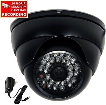 700TVL Security Camera w// SONY Effio CCD Outdoor IR Night Wide Angle /& Power BDD