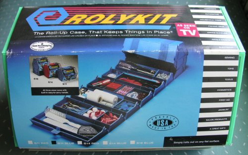 rolykit roll up case keeps things place various colors