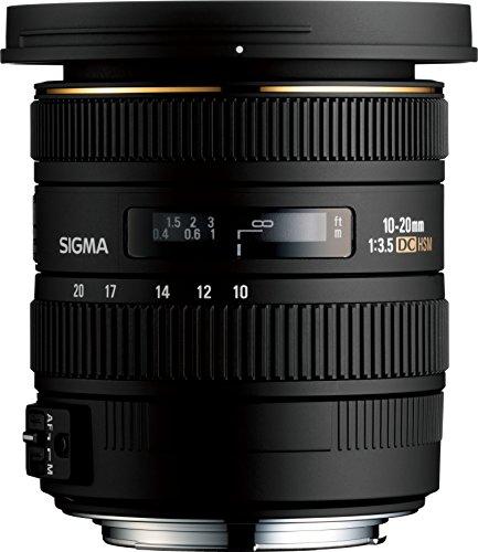 Sigma 10-20mm F3.5 Ex Dc Hsm Eld Sld Aspherical Super Wide Angle Lens For Nikon Digital Slr Cameras