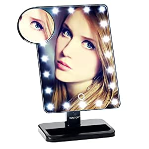Amazon Com Suntop Led Lighted Vanity Makeup Mirror 20