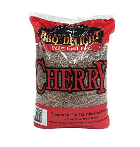 Cherry Flavor BBQR's Delight Smoking BBQ Pellets 20 Pounds
